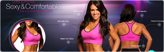 Sexyshapewear Web Site Design Example